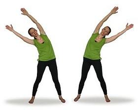 Очищение кишечника - упражнение №1