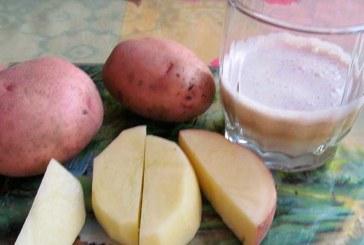 Сырой картофельный сок имеет много пользы и минимум вреда
