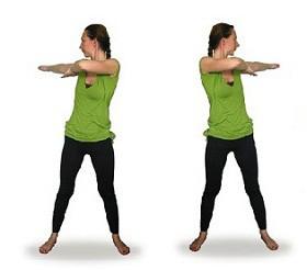 Очищение кишечника - упражнение №2