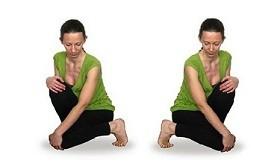 Очищение кишечника - упражнение №4