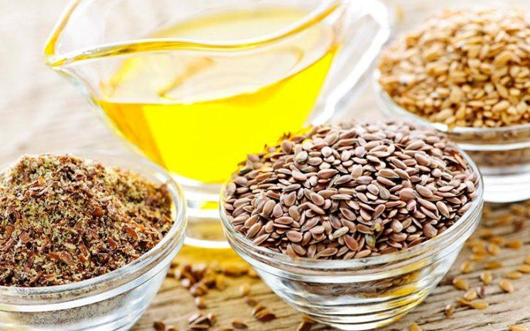 Очищение кишечника семенами льна