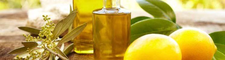 Дюбаж с оливковым маслом и лимонным соком