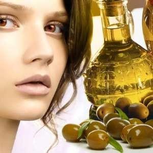 Отбеливающая маска с маслом оливы