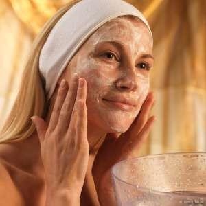 Питательная витаминная маска для лица из овсянки