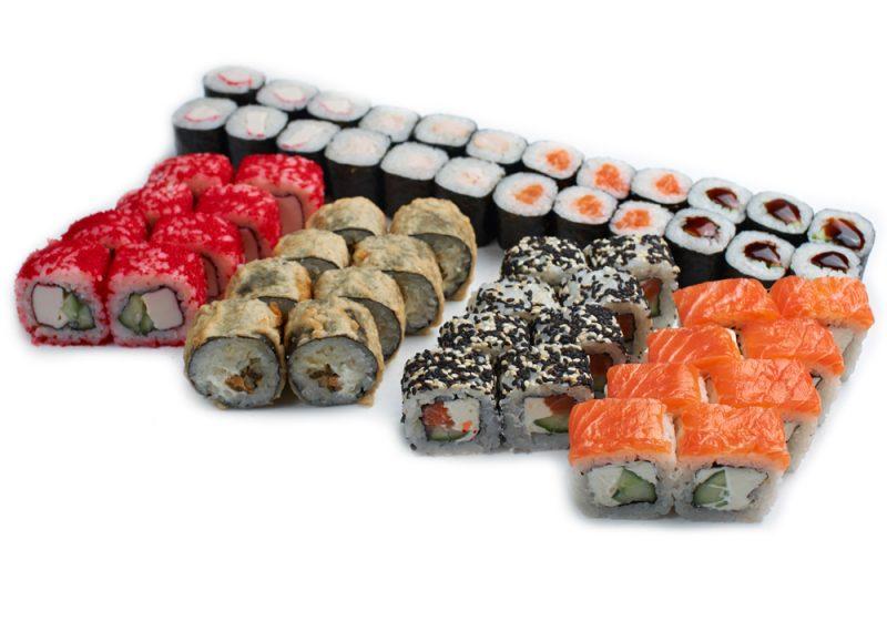 О полезных свойствах суши и роллов